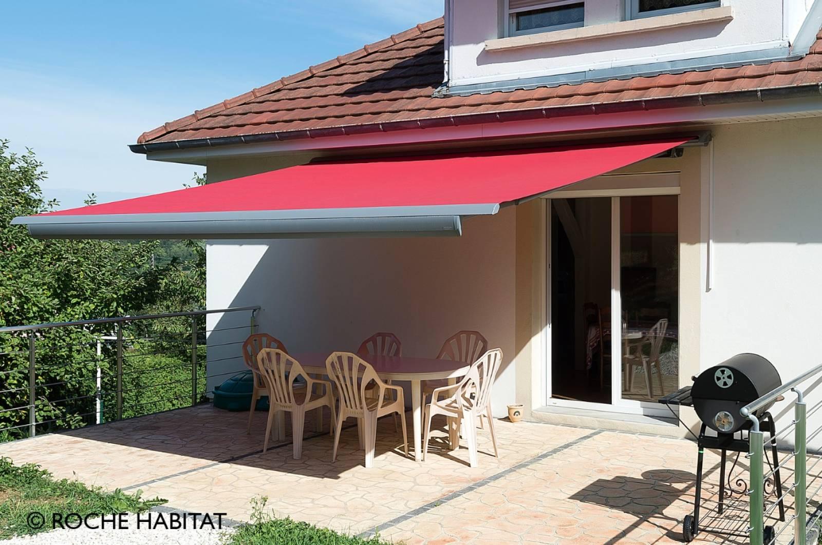 Store coffre pour terrasse à Belleville - Ombre et Soleil